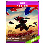 Spider-Man: Un nuevo universo (2018) WEB-DL 720p Audio Dual Latino-Ingles