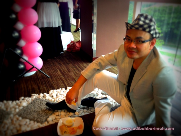 Coco Chanel Dear Hanis Haizi Party by Adibah Karimah and dr hasbi