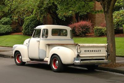 1951 Chevrolet 3100 Pickup.