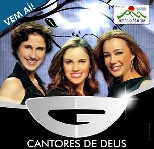 """Mega show com a presença da banda """"Cantores de Deus"""""""