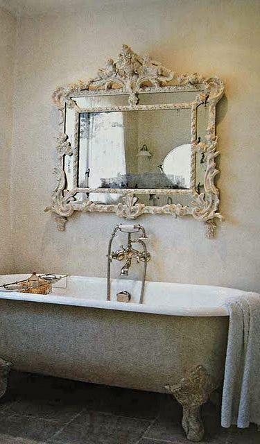 vasche creativo bagno da Shabby : ... Shabby Chic: arredare interni ed esterni della casa: VASCHE DA BAGNO