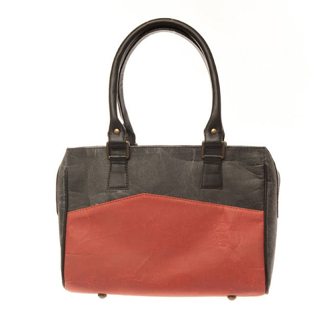 Handbag made from recycled plastics designed by Alkemi
