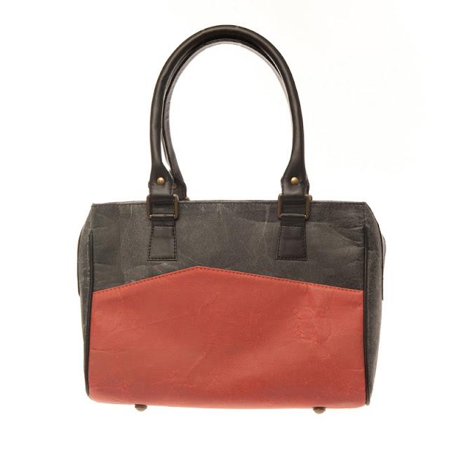 Handbag made from recycled plastics designed by Alkemi
