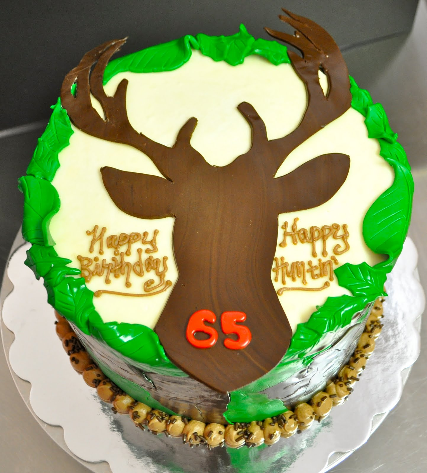 Deer Head Birthday Cakes