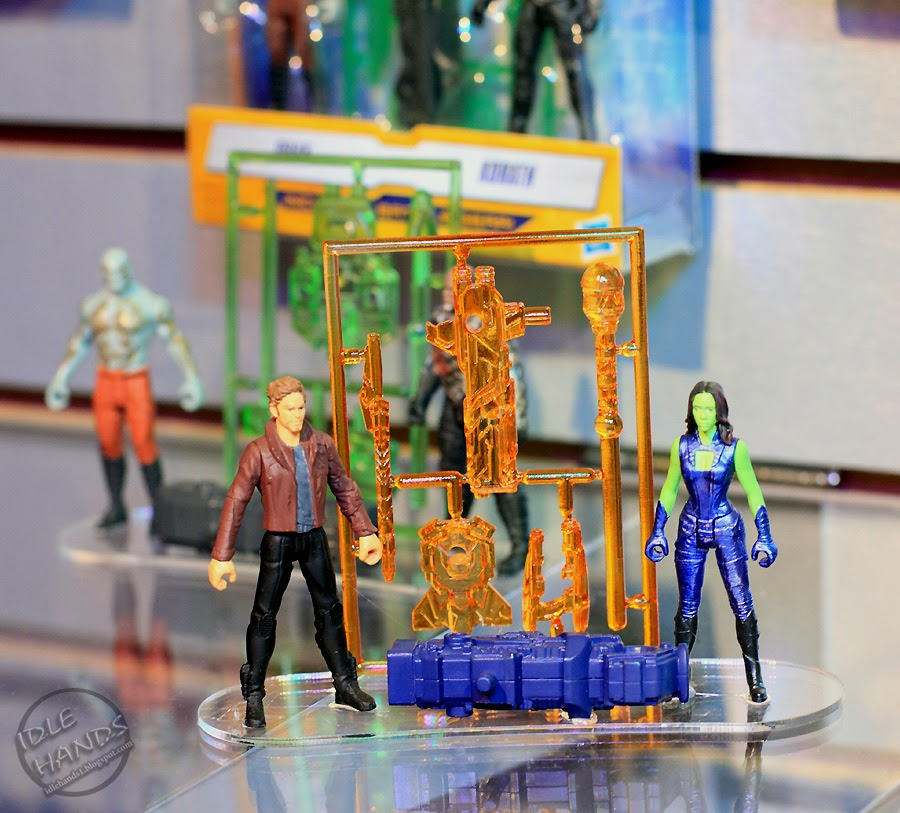Idle hands toy fair 2014 guardians of the galaxy action for Galaxy toys