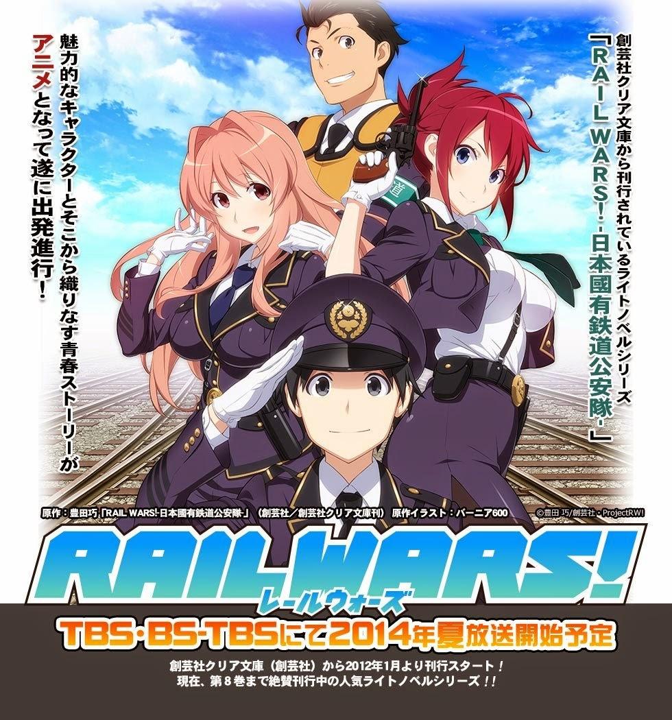 [ Info-Anime ] Video Promo Pertama Dari Anime Rail Wars