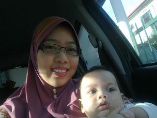 mama cun camwhore bersama baby cute!