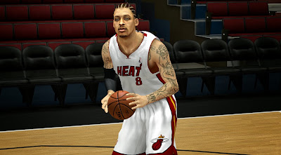 NBA 2K14 Michael Beasley Cyberface Patch