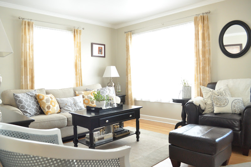 Just so lovely updated living room pictures