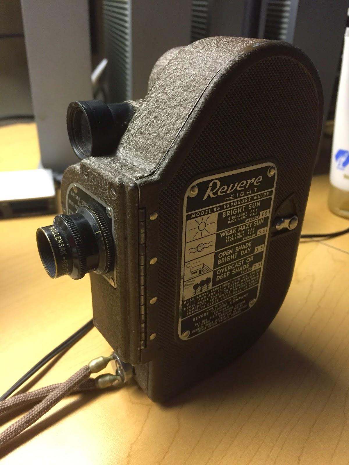 Revere Model 88 Double 8mm camera