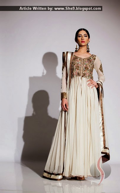 Fahad Hussayn Formal Dress