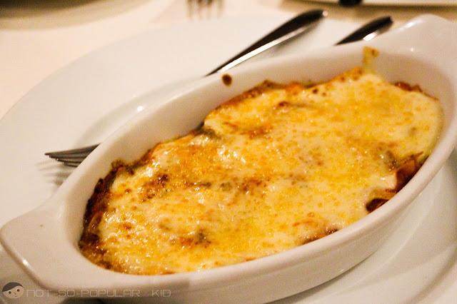 Tosca's Baked Lasagna - Dusit Thani