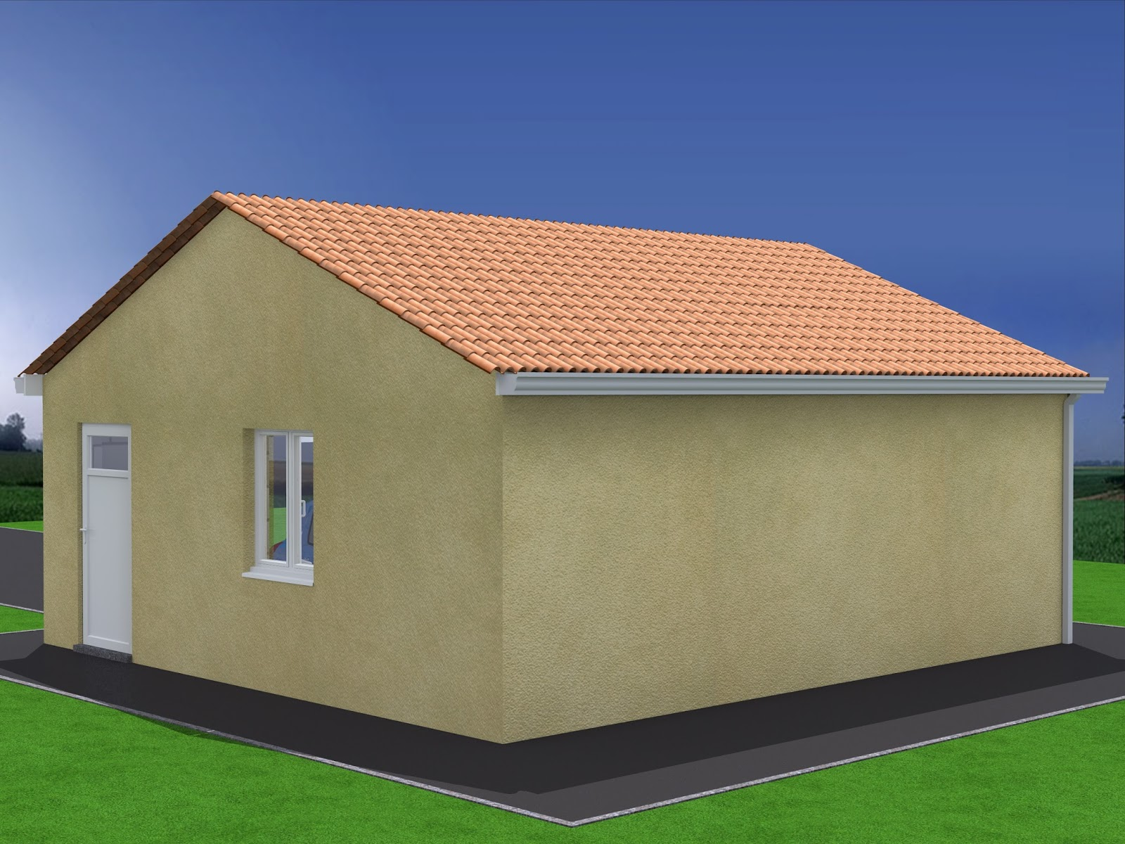 Projet de construction de garage double am nagements for Construction garage double