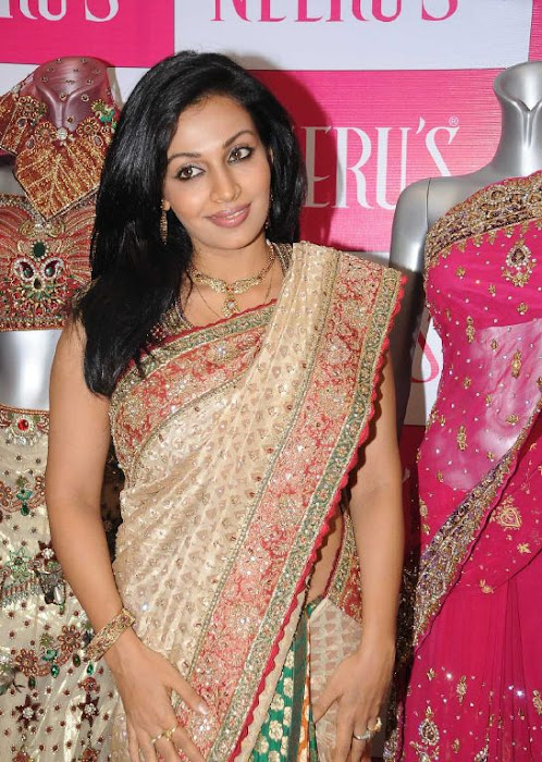 asha saini aka mayuri in silk saree photo gallery