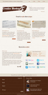 The lesson to create a beautiful textured design (design and layout of the site)