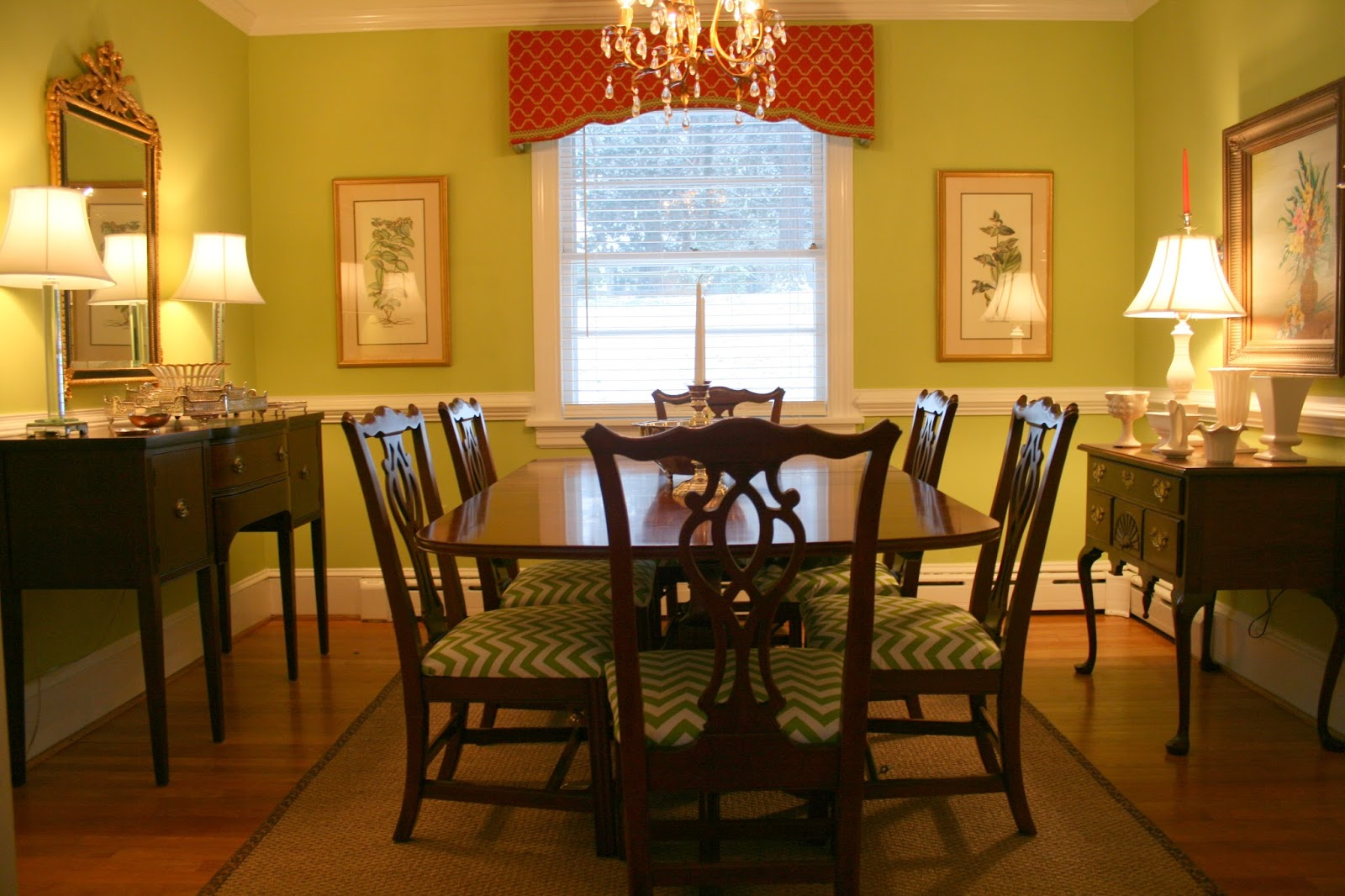 Richmond real estate mom simple home projects dining for Simple dining room