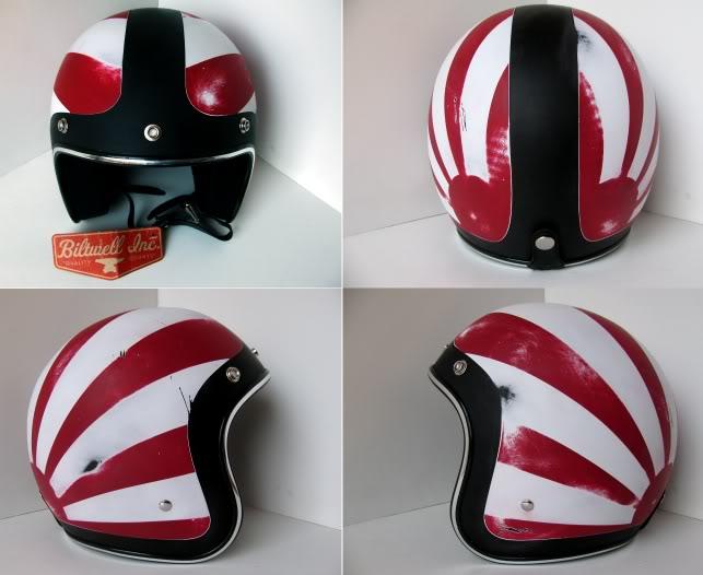 Vintage Racers Old School Helmets Via Silodrome