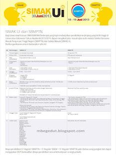 Simak UI dan SBMPTN