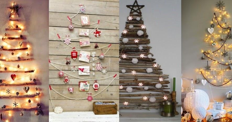 Alberi Di Natale In Legno Da Parete : Il giardino sfumato: albero di natale da parete!