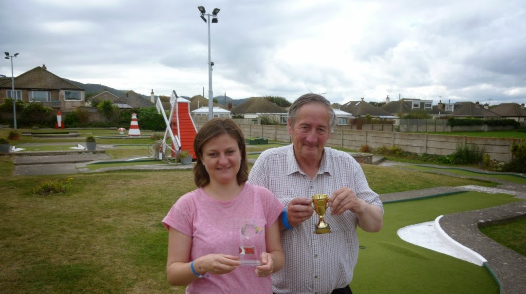 'The Butler Cup' On The Buses Crazy Golf Tournament in Prestatyn