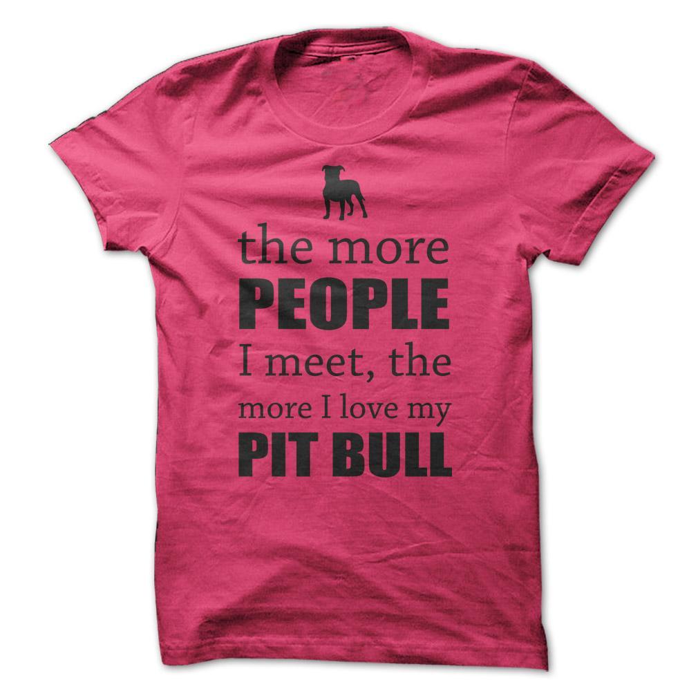 Pit Bull Dog T Shirts