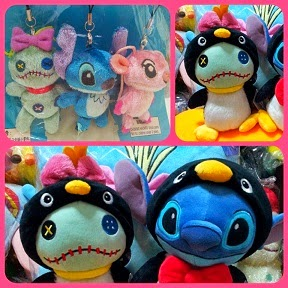 2010 HKDL SUMMERFUN HAPPY FEET SCRUMP+STITCH