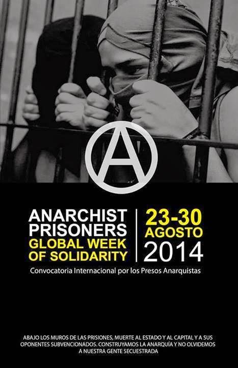 Setmana Internacional de Solidaritat amb Anarquistes Empresonats (23/30-08-14)