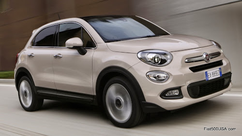Fiat 500X Lounge Driving