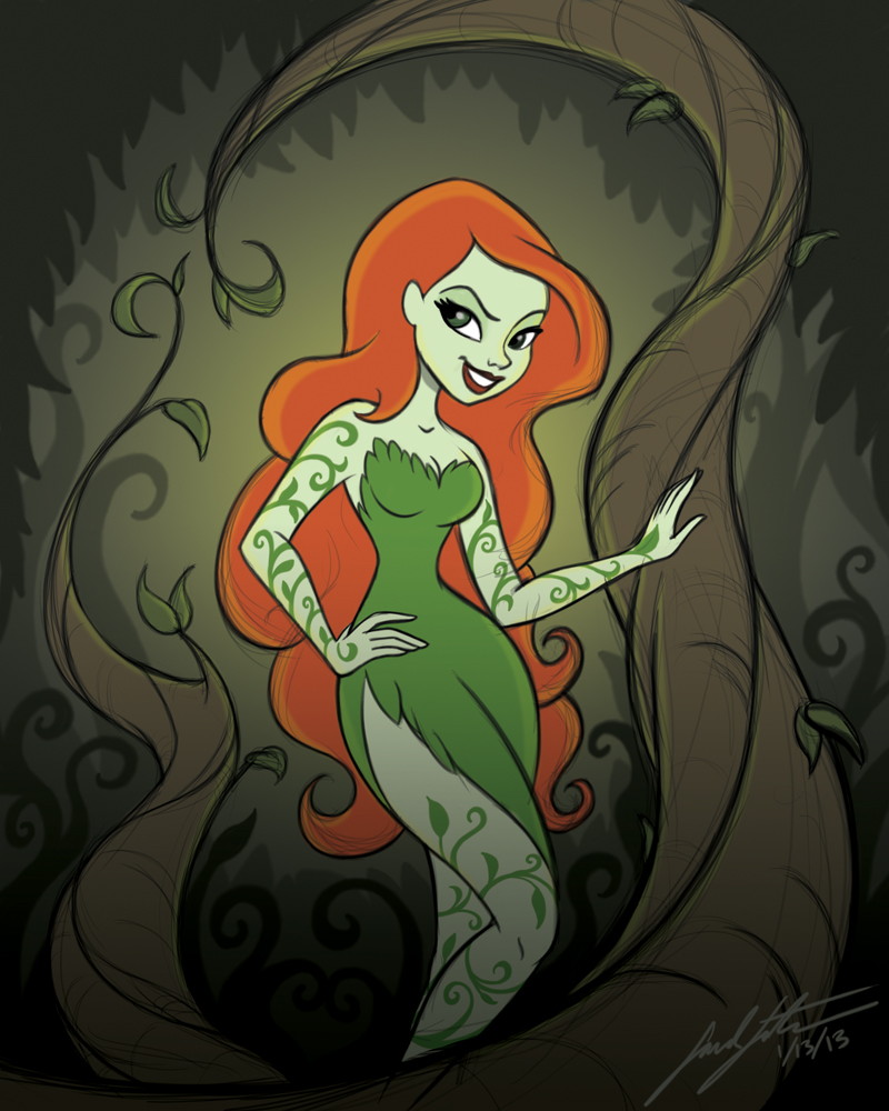 Sarah's Sketchbook: Poison Ivy