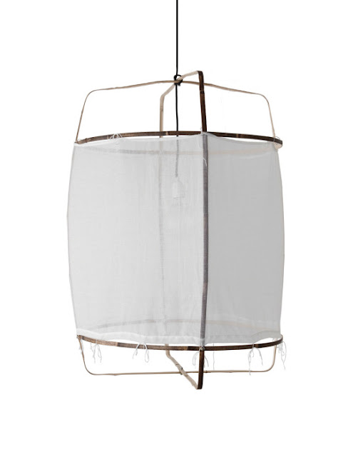 {Interiors} Gorgeous Z1 Black cotton lamp by Ay Illuminate