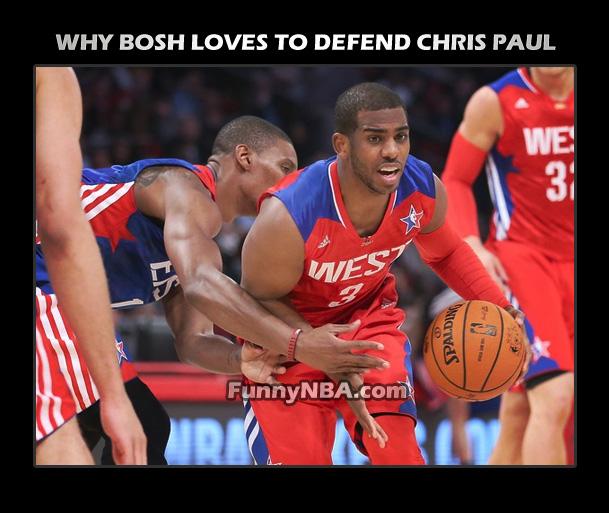 2013 Funny Chris Bosh Moments | NBA FUNNY MOMENTS