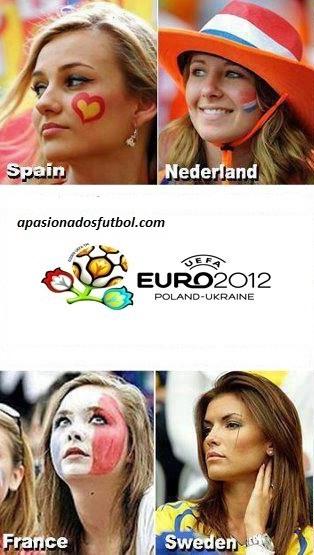 Todas las Bellezas de la Eurocopa 2012