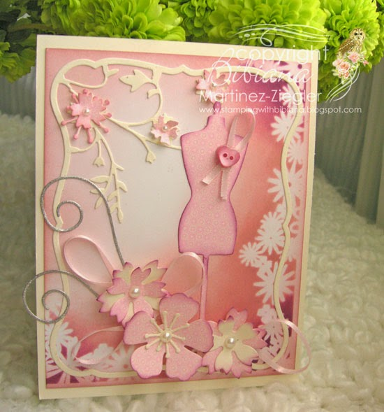 pink oct dress form front card