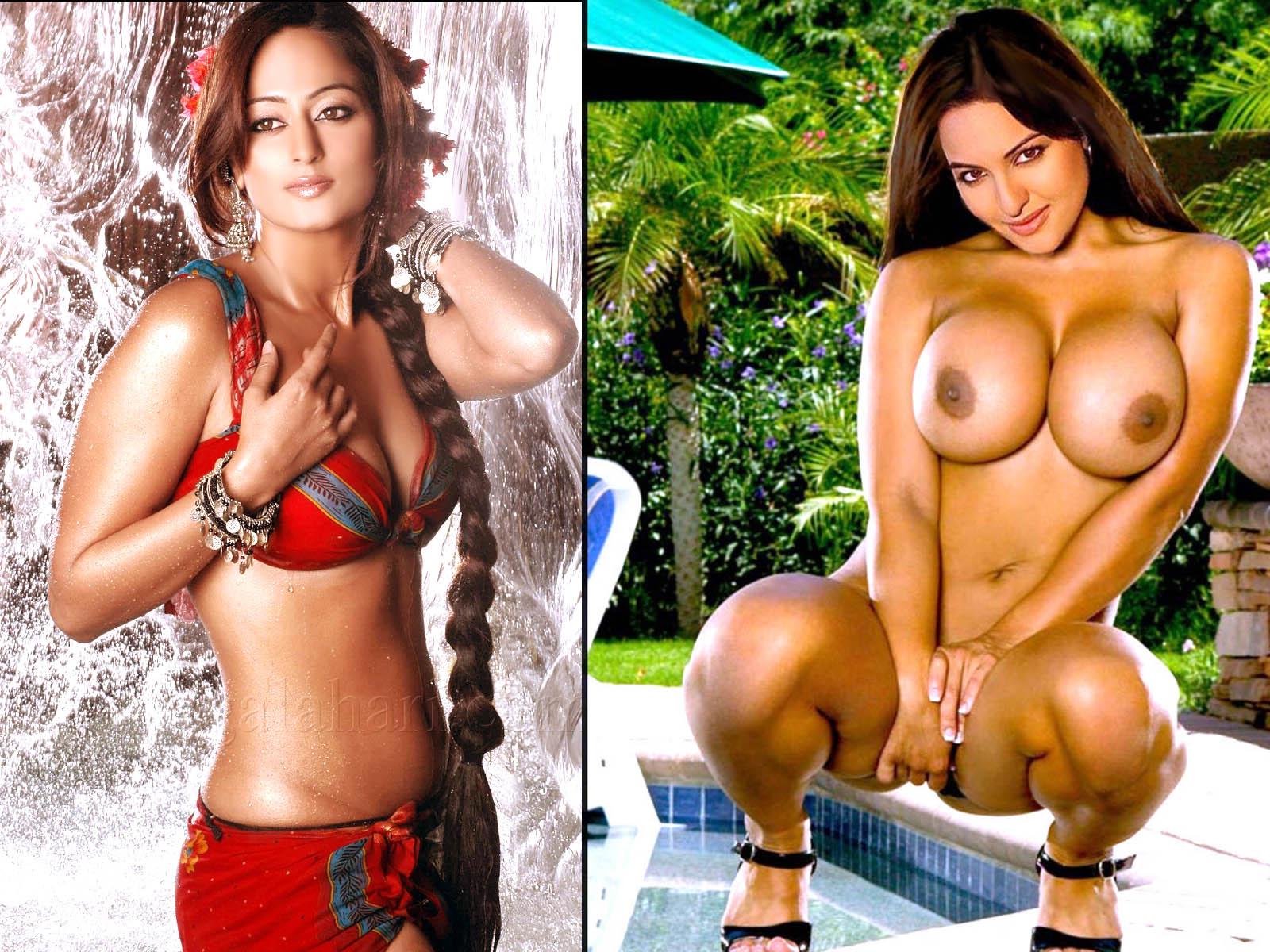 Richa Gangopadhyay Nude And Se Sonakshi Sinha Wallpaper