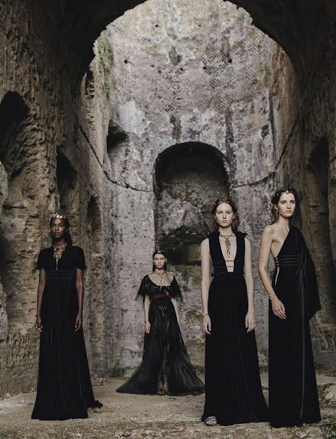 Valentino Haute-Couture Fall 2015 By Fabrizio Ferri for Vogue Italia