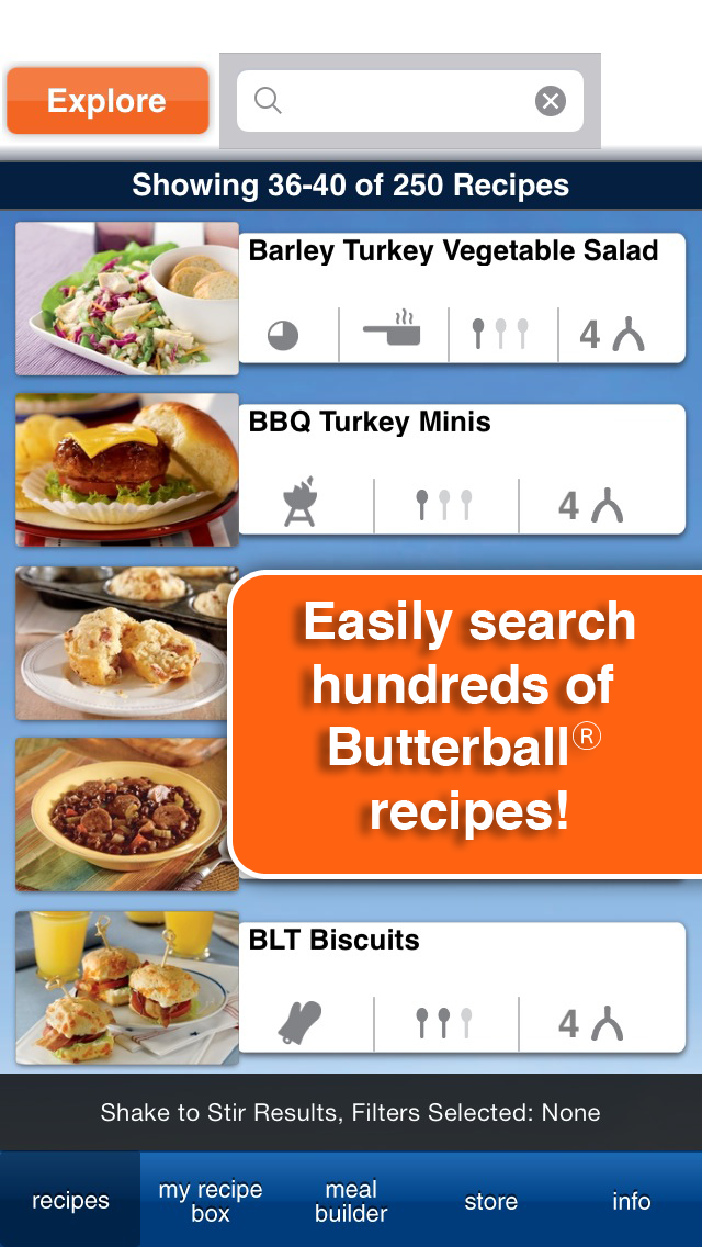 Sheilacakes the butterball cookbook plus app review butterball cookbook plus also features in app purchases for additional themed recipe packs including how to prepare gluten free meals for more delicious forumfinder Choice Image