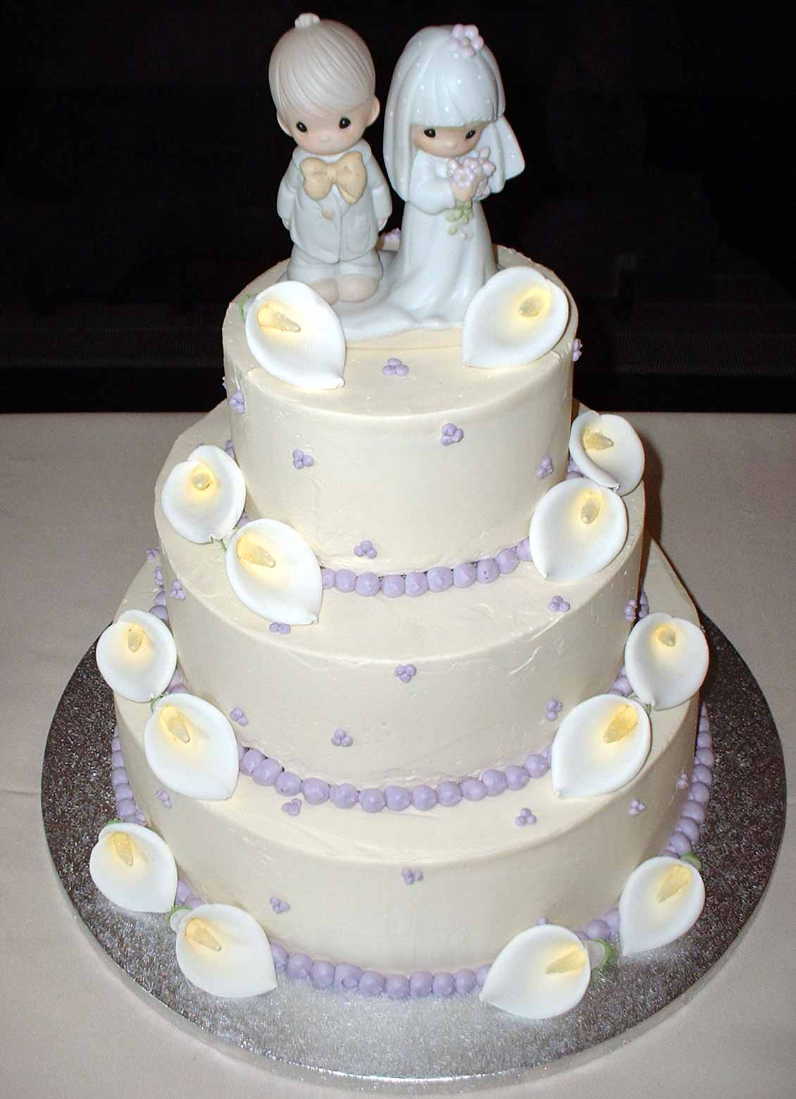 design of wedding cakes
