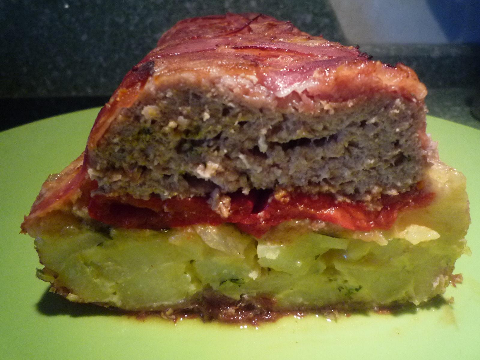 Las recetas de macu pastel de carne y tortilla de papas idea de isasaweis pero con mi toque - Bizcocho microondas isasaweis ...