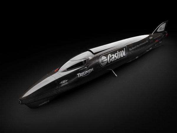 Castrol Rocket | Castrol Rocket Triumph | Castrol Rocket specs | Castrol Rocket topspeed | Bonneville Salt Flats | land-speed record | 1,000-horsepower Castrol Rocket