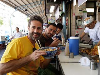 Almuerzo callejero en Japón