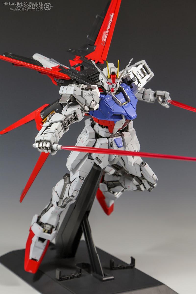 GUNDAM GUY: PG 1/60 GAT-X105 Strike Gundam [Aile Striker