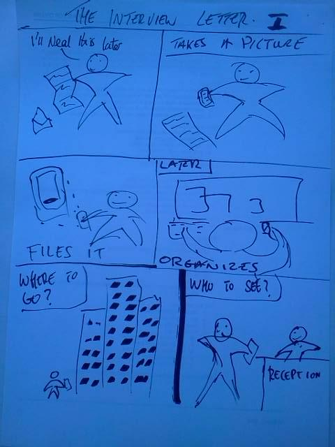 First Storyboard