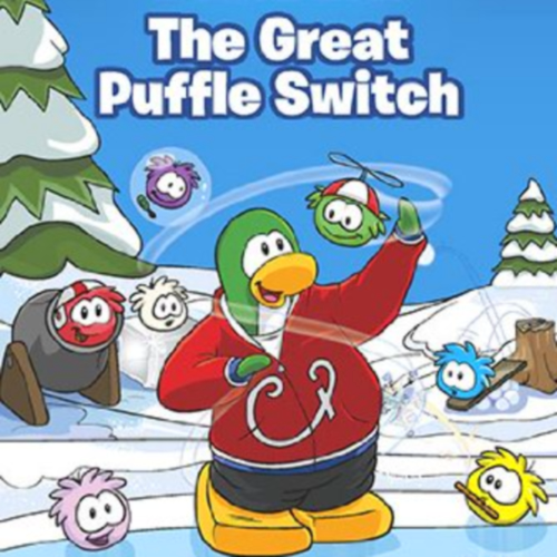 Club Penguin Great Puffle Switch Book Codes