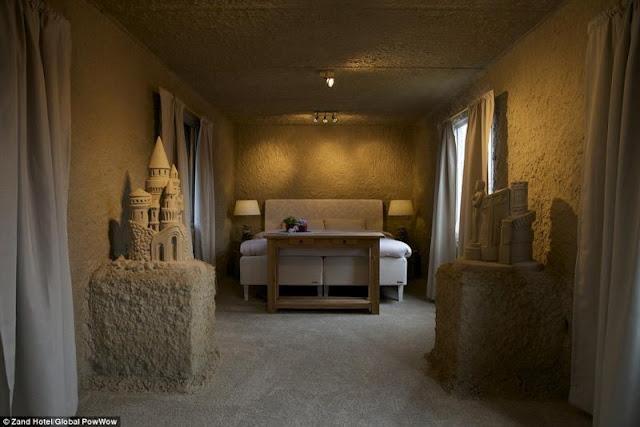 Hollanda Kumdan Otel Resimleri