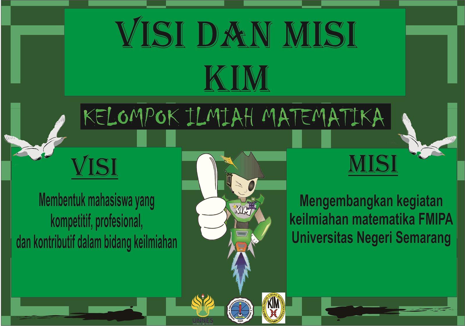 VISI dan MISI KIM
