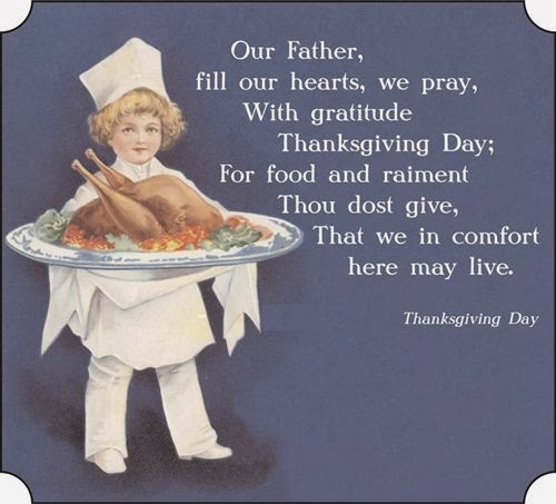 Meaning Thanksgiving Poems and Prayers