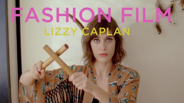 With Lizzy Caplan (Besides This Amazing Vena Cava Fashion Film
