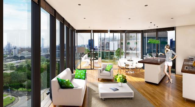 英國房地產投資 住宅公寓內裝