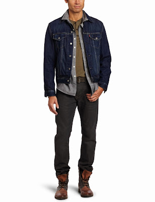 Levis Mens Relaxed Trucker Jacket At Amazon Mens Clothing Store