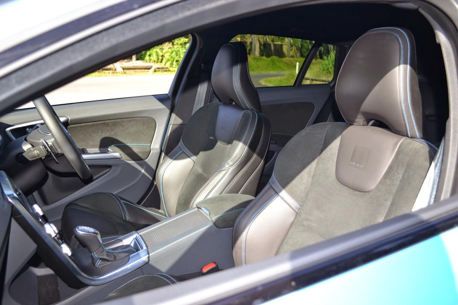 Volvo V60 Polestars wonderful sports seats